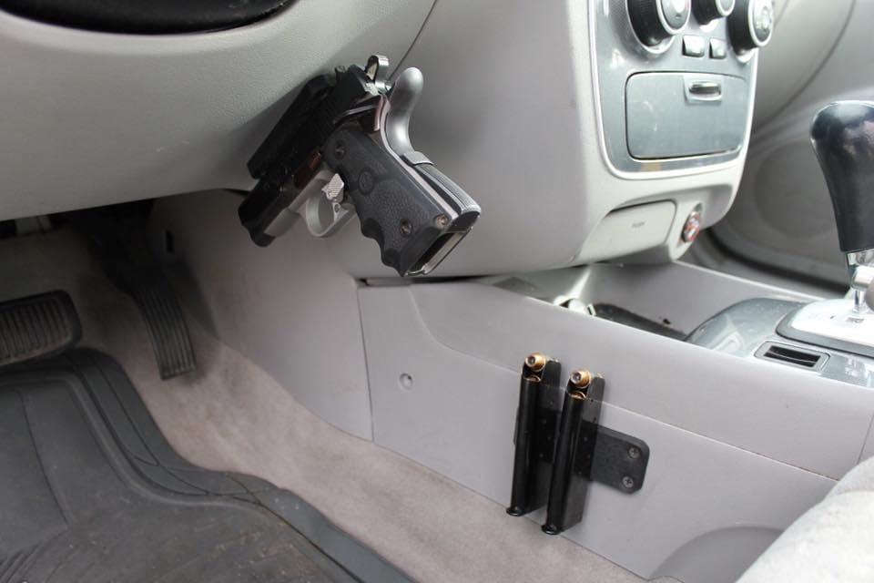 best magnetic gun mount holster